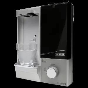 Purificador de água natural Europa Da Vinci HF - Prata
